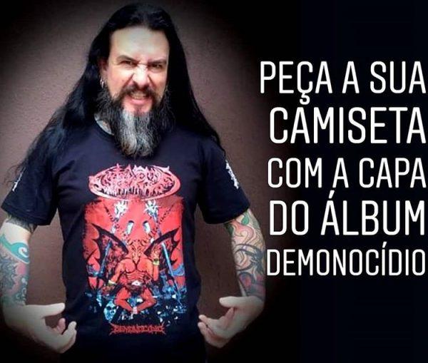 Camiseta Demonocidio Antidemon