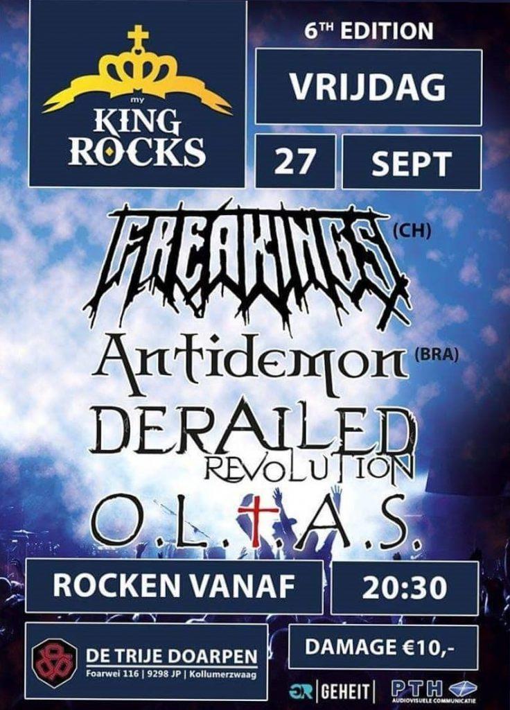 Antidemon in 27/09/2019 in Kollumerzwaag, Holanda