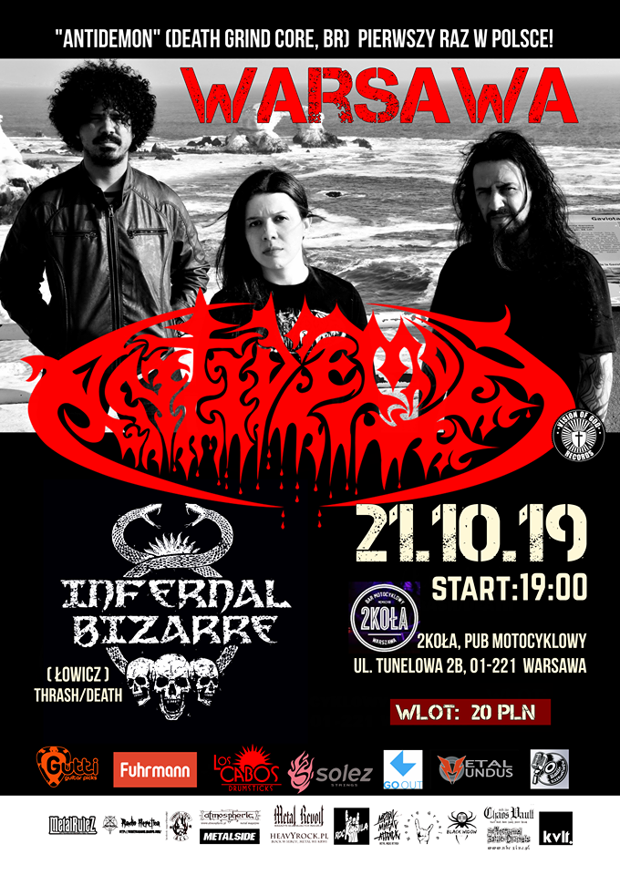 Antidemon [BR], Infernal Bizarre in Warszawa, Poland